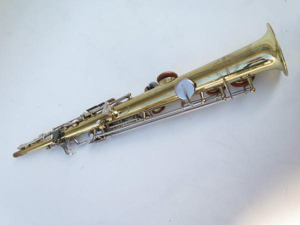 Saxophone soprano Couesnon Monopole verni clétage nickelé (6)
