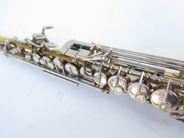 Saxophone soprano Couesnon Monopole verni clétage nickelé (8)