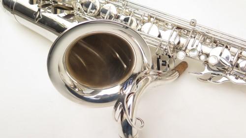 Saxophone ténor Selmer Série 3 argenté (1)