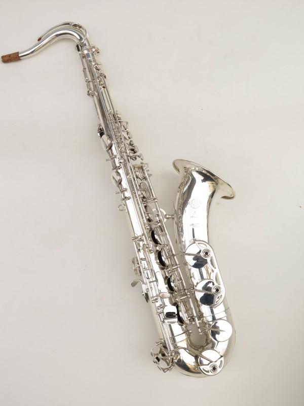 Saxophone ténor Selmer Série 3 argenté (5)
