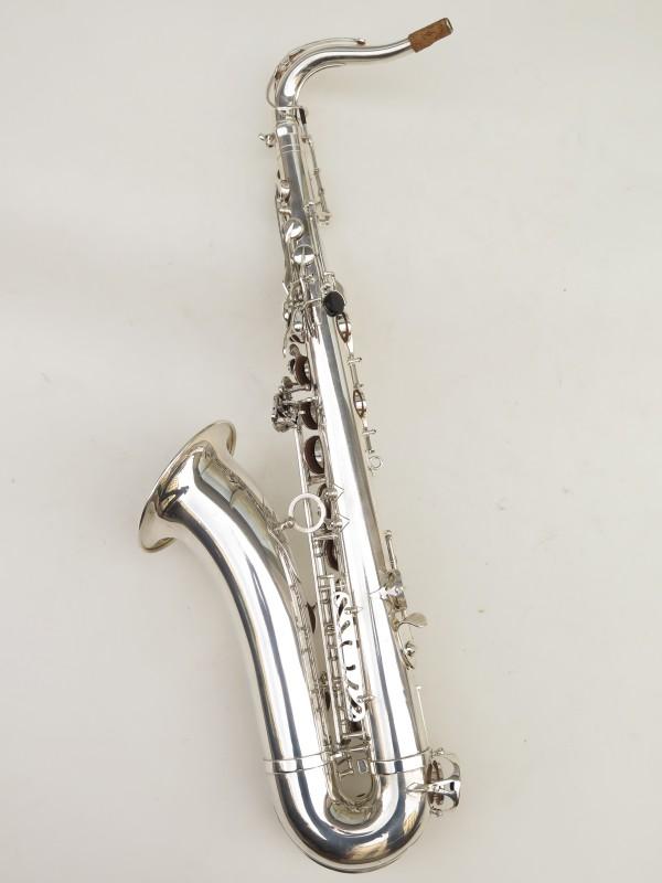 Saxophone ténor Selmer Série 3 argenté (6)