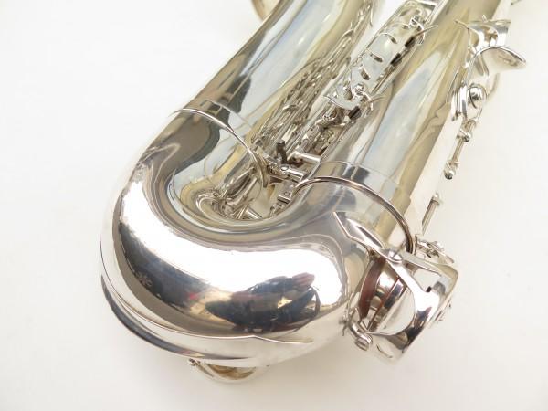 Saxophone ténor Selmer Série 3 argenté (8)