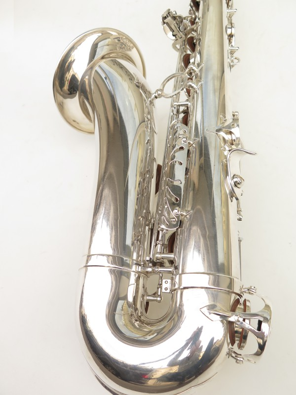 Saxophone ténor Selmer Série 3 argenté (9)