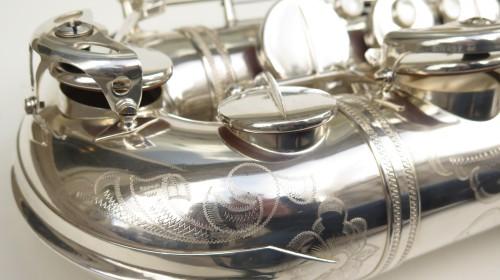 Saxophone ténor Selmer Mark 6 argenté gravé (1)