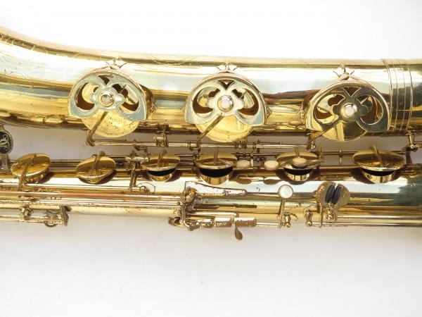 Saxophone baryton Buffet Crampon S1 verni gravé (10)