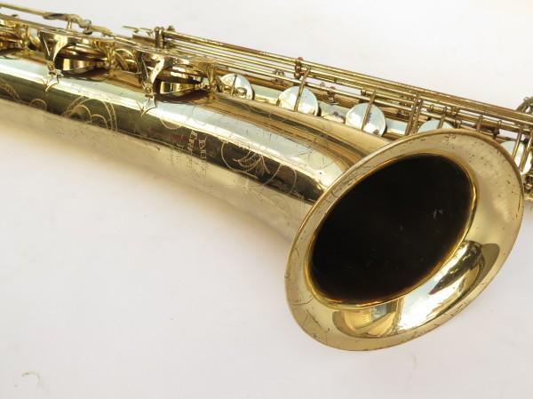 Saxophone baryton Buffet Crampon S1 verni gravé (12)