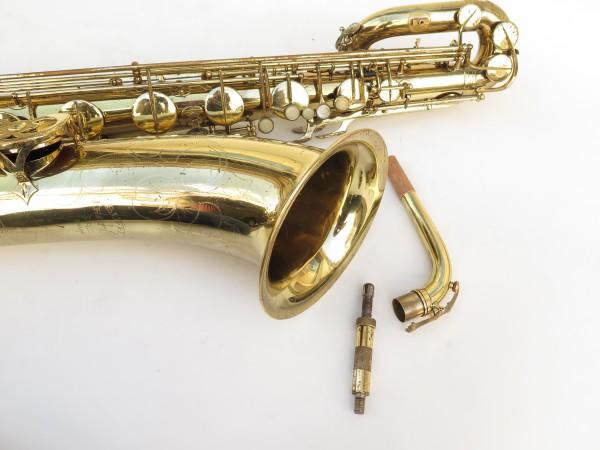 Saxophone baryton Buffet Crampon S1 verni gravé (13)