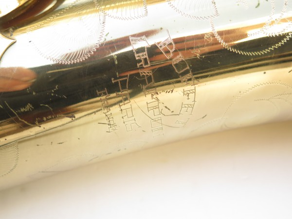 Saxophone baryton Buffet Crampon S1 verni gravé (6)