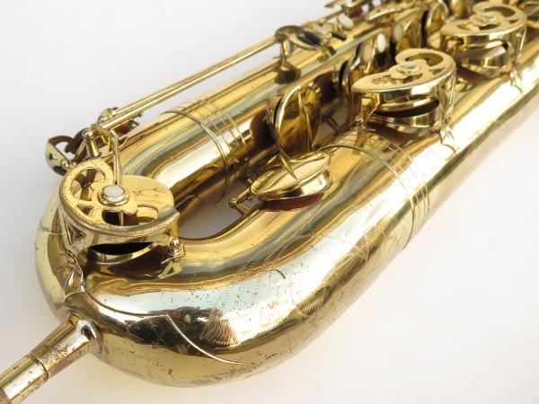 Saxophone baryton Buffet Crampon S1 verni gravé (7)