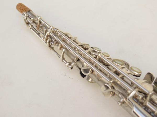 Saxophone soprano Conn argenté gravé (2)