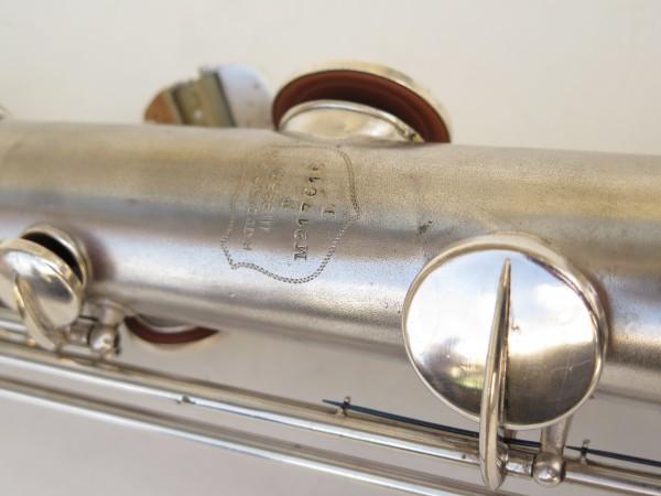 Saxophone soprano Conn argenté gravé (5)