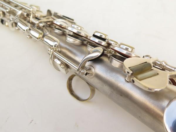 Saxophone soprano Conn argenté gravé (6)