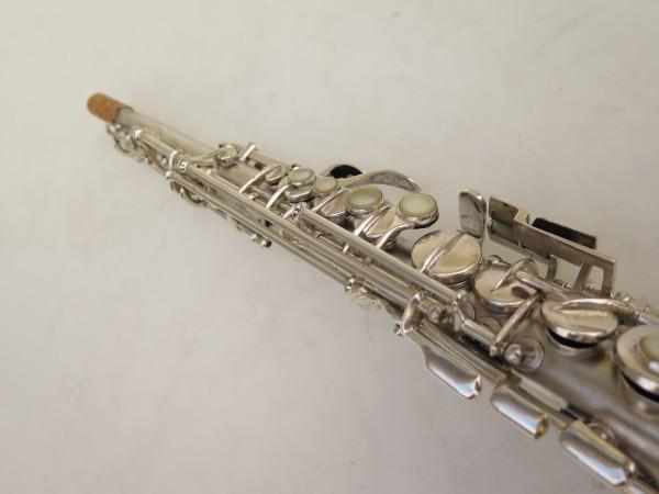 Saxophone soprano Conn argenté gravé (9)