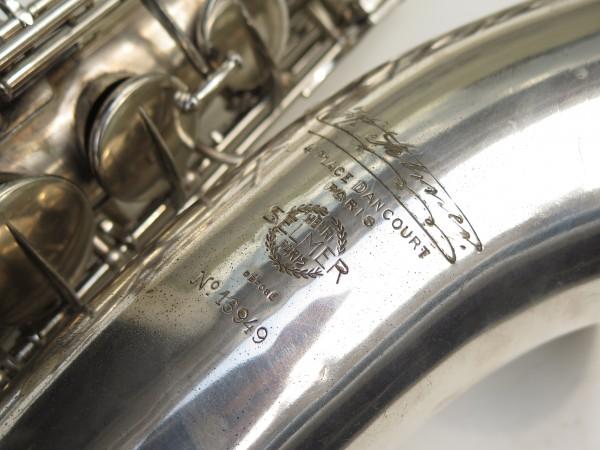 Saxophone ténor Selmer Large Bore argenté (1)