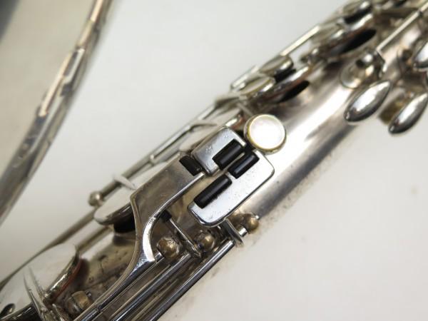 Saxophone ténor Selmer Large Bore argenté (10)