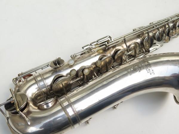 Saxophone ténor Selmer Large Bore argenté (11)