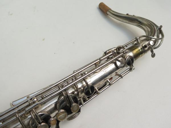 Saxophone ténor Selmer Large Bore argenté (12)