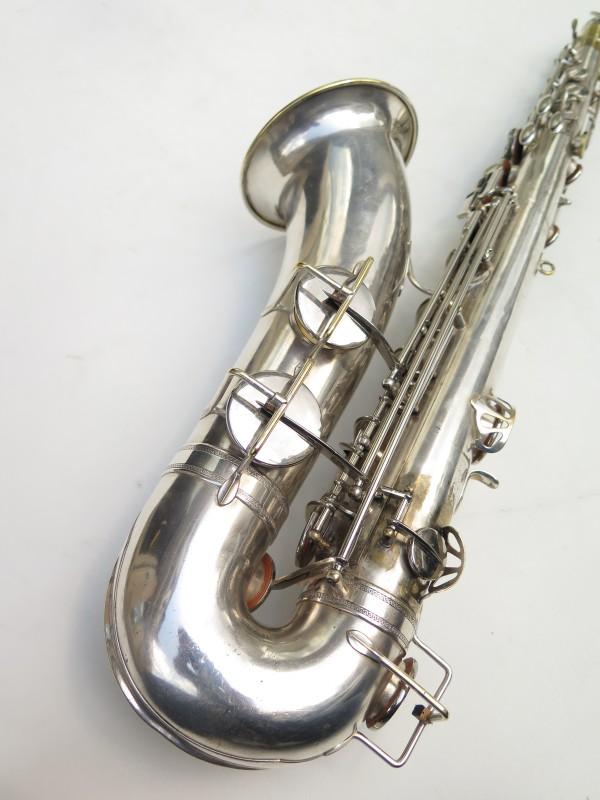 Saxophone ténor Selmer Large Bore argenté (13)