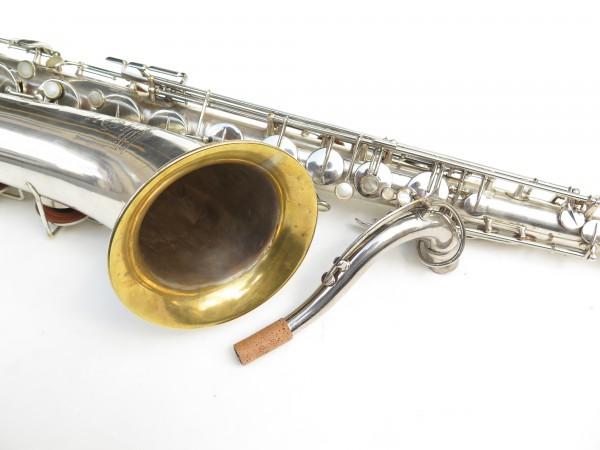 Saxophone ténor Selmer Large Bore argenté (14)