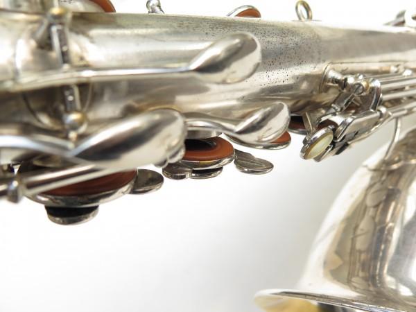 Saxophone ténor Selmer Large Bore argenté (16)