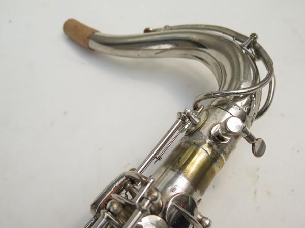 Saxophone ténor Selmer Large Bore argenté (3)