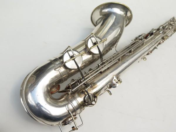 Saxophone ténor Selmer Large Bore argenté (4)