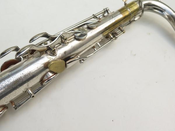 Saxophone ténor Selmer Large Bore argenté (5)