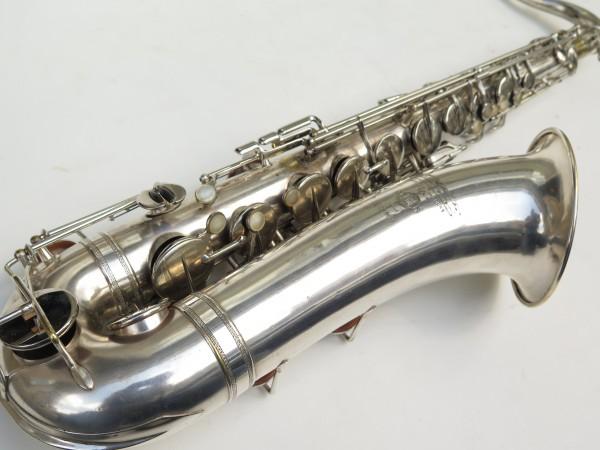 Saxophone ténor Selmer Large Bore argenté (6)