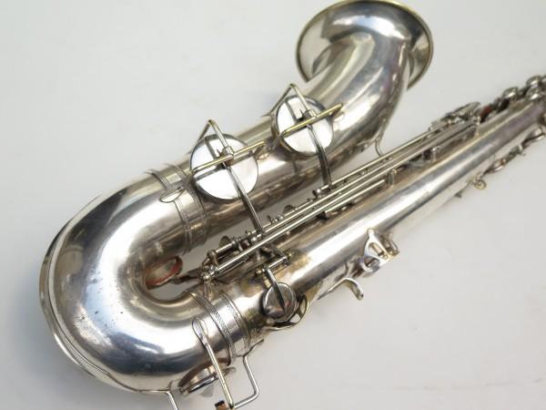 Saxophone ténor Selmer Large Bore argenté (7)