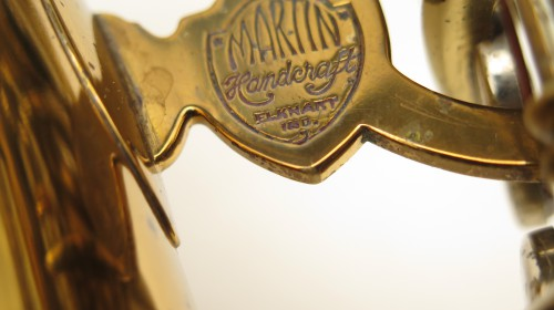 Saxophone alto Martin Handcraft committee 2 verni gravé (1)