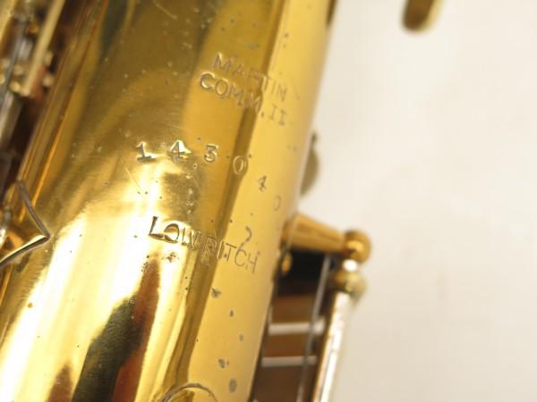 Saxophone alto Martin Handcraft committee 2 verni gravé (2)
