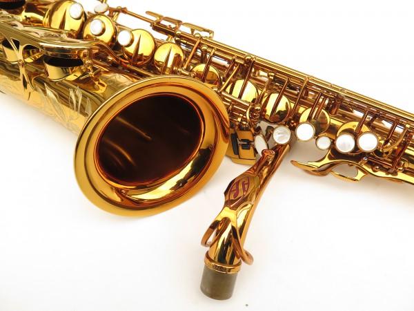 Saxophone alto Selmer Reference 54 verni gravé limited edition flamingo africa sans fa# (1)