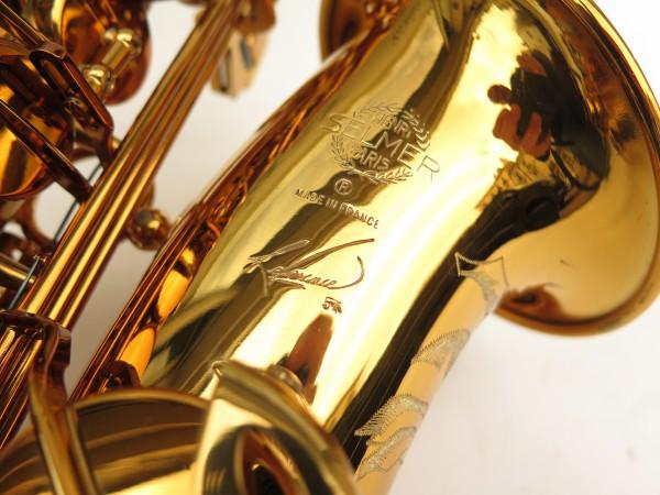 Saxophone alto Selmer Reference 54 verni gravé limited edition flamingo africa sans fa# (13)