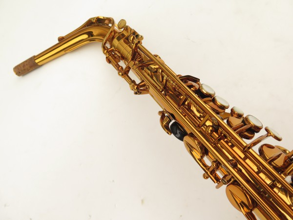 Saxophone alto Selmer Reference 54 verni gravé limited edition flamingo africa sans fa# (15)