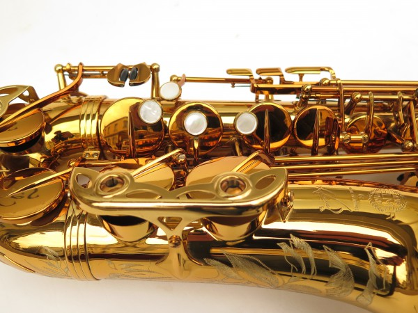 Saxophone alto Selmer Reference 54 verni gravé limited edition flamingo africa sans fa# (2)