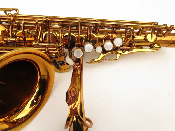 Saxophone alto Selmer Reference 54 verni gravé limited edition flamingo africa sans fa# (3)
