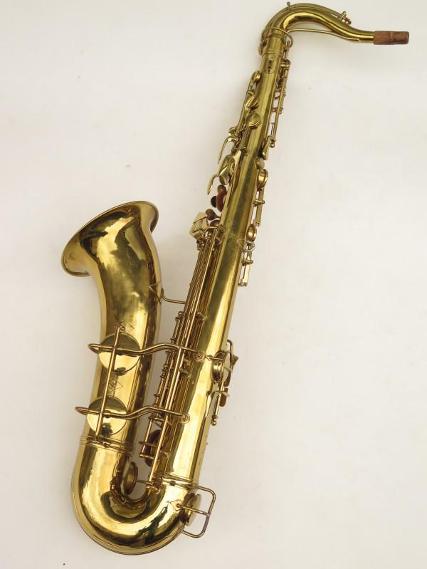Saxophone ténor Conn 10 verni gravé ladyface (10)