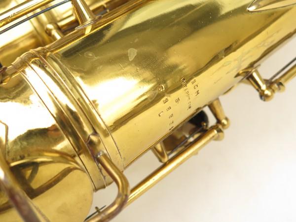 Saxophone ténor Conn 10 verni gravé ladyface (11)
