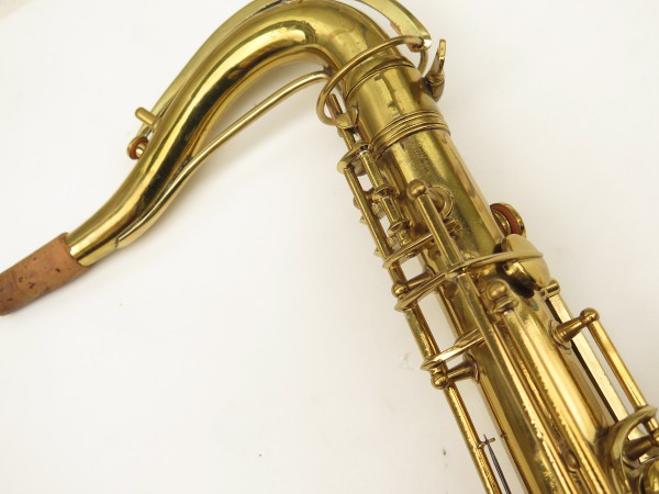 Saxophone ténor Conn 10 verni gravé ladyface (3)