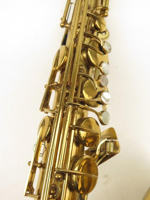 Saxophone ténor Conn 10 verni gravé ladyface (4)