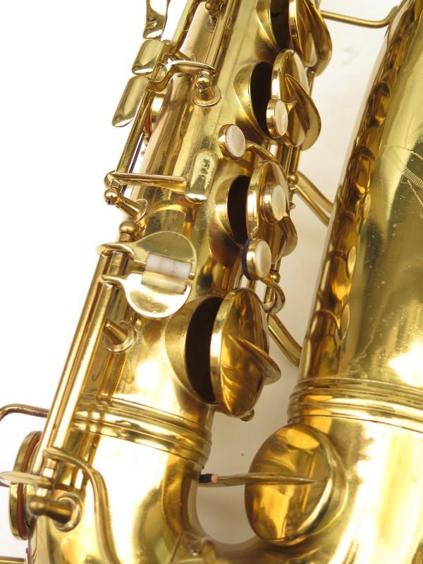Saxophone ténor Conn 10 verni gravé ladyface (5)