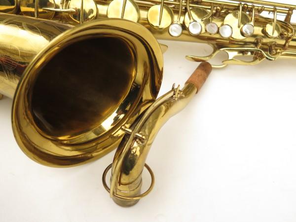 Saxophone ténor Conn 10 verni gravé ladyface (7)