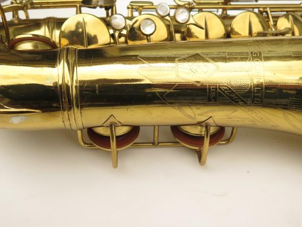Saxophone ténor Conn 10 verni gravé ladyface (8)