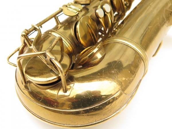 Saxophone ténor Conn transitionnel 10M verni gravé ladyface (1)