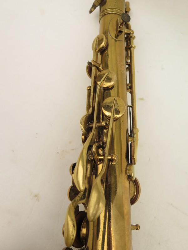 Saxophone ténor Conn transitionnel 10M verni gravé ladyface (10)