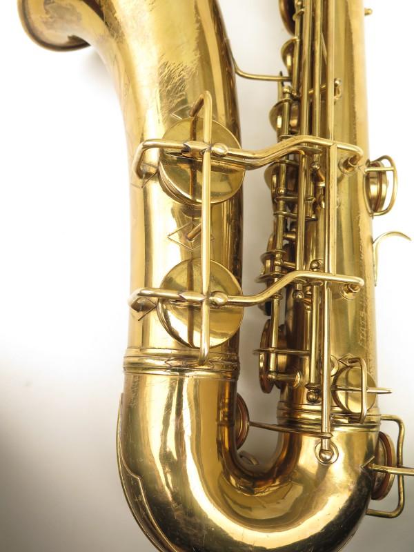 Saxophone ténor Conn transitionnel 10M verni gravé ladyface (11)