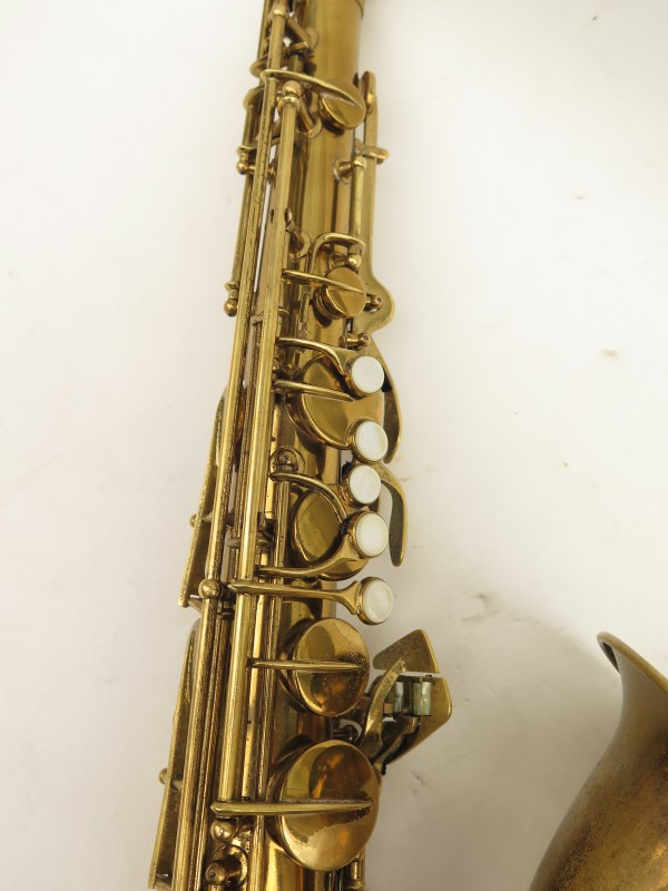 Saxophone ténor Conn transitionnel 10M verni gravé ladyface (13)
