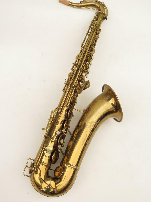 Saxophone ténor Conn transitionnel 10M verni gravé ladyface (17)