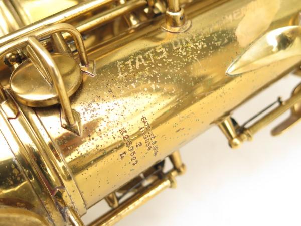 Saxophone ténor Conn transitionnel 10M verni gravé ladyface (19)