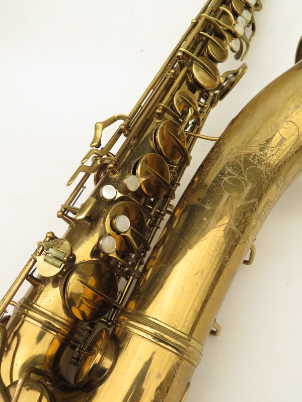 Saxophone ténor Conn transitionnel 10M verni gravé ladyface (2)